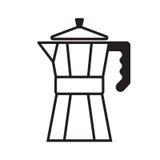 Создатель кофе Стоковая Фотография