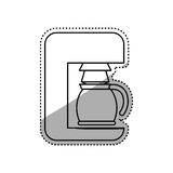 Создатель машины кофе бесплатная иллюстрация