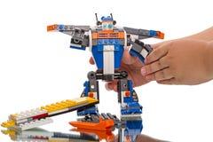 Создатель LEGO - робот Стоковая Фотография