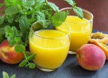 Соки абрикоса Стоковая Фотография