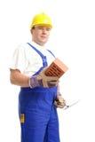 соколок строителя кирпича Стоковое Изображение RF