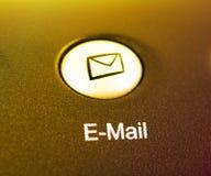 сокращение электронной почты кнопки Стоковое Фото