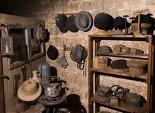 Сокровища в музее стен Стоковые Изображения RF