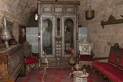 Сокровища в музее стен Стоковое Изображение