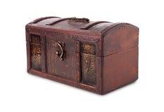 сокровище комода закрытое деревянное Стоковое Изображение