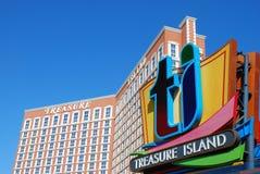 сокровище острова казино Стоковая Фотография