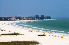 сокровище острова пляжа Стоковые Изображения