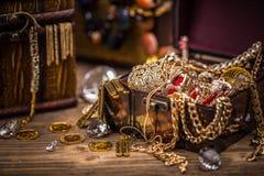 сокровище пирата комода Стоковые Изображения RF