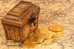 сокровище стоковое изображение rf