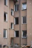 сокрушенная дом Стоковое Фото