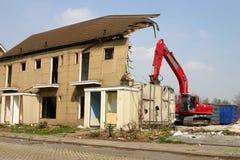 сокрушенное здание Стоковые Фото