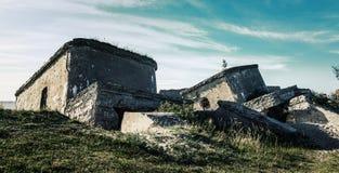 Сокрушенные воинские форты Стоковое фото RF