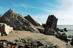 Сокрушенные воинские форты Стоковая Фотография