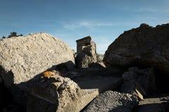 Сокрушенные воинские форты Стоковые Фото