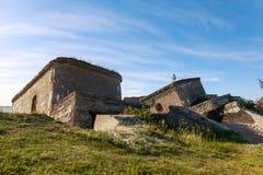 Сокрушенные воинские форты Стоковое Изображение RF