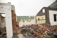 Сокрушенный дом Стоковые Фотографии RF
