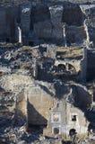 сокрушено roden село стоковое изображение rf