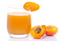 Сок абрикоса Стоковое фото RF