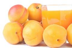 сок абрикосов Стоковые Изображения