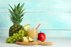 Сок ананаса Стоковая Фотография RF