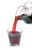 Сок вишни полит Стоковые Фотографии RF