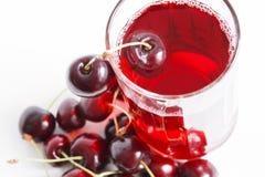 сок вишни Стоковая Фотография RF
