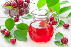 Сок вишни Стоковое Изображение RF