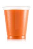 Сок в пластичной чашке Стоковое Изображение RF