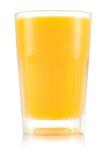 Сок в пластичной чашке Стоковая Фотография RF