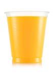Сок в пластичной чашке Стоковая Фотография