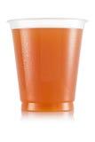 Сок в пластичной чашке Стоковое Изображение