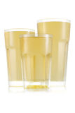 Сок в размере 3 стекла Стоковое Изображение