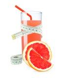 Сок грейпфрута с метром Стоковые Фотографии RF