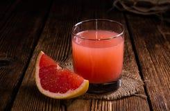 Сок грейпфрута Стоковое Изображение