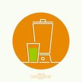 сок естественный иллюстрация вектора
