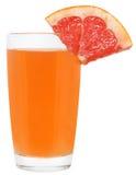 Сок изолированного грейпфрута Стоковая Фотография