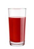 Сок кислой вишни Стоковая Фотография RF