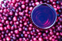 сок клюквы Стоковое Фото