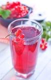 Сок красной смородины стоковая фотография rf