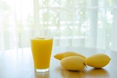 Сок манго для здоровья Стоковое фото RF