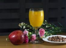 Сок манго Стоковая Фотография