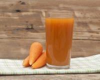 Сок моркови Стоковое Фото