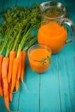 Сок моркови Стоковые Изображения RF