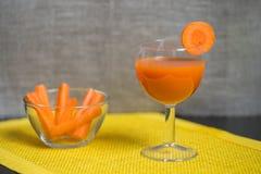 Сок моркови Стоковые Фото