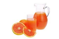 Сок от грейпфрута Стоковое Изображение RF