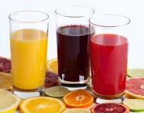 сок свежих фруктов цитруса Стоковое Изображение RF