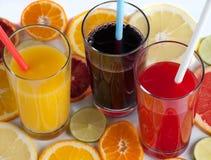 сок свежих фруктов цитруса Стоковая Фотография RF