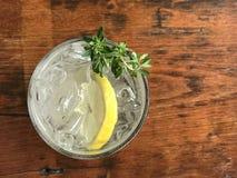Сок соды лимона стоковое изображение rf