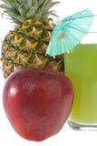 сок стекла свежих фруктов Стоковые Изображения