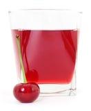 сок стекла вишни вишен Стоковое Изображение RF